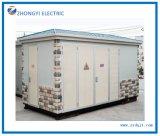 Subestación eléctrica de alto voltaje encajonada modular modificada para requisitos particulares con el compartimiento del transformador