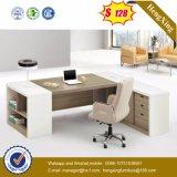 新しい設計事務所の家具L形マネージャのコンピュータのオフィス表(NS-GD024)