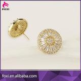 Oro dell'orecchino 18k dei monili dell'oro della Doubai