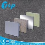 Comitato di alluminio perforato del favo del granito di marmo per la parete esterna