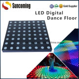 Professionelle bunte 50X50cm RGB Digital LED Dance Floor