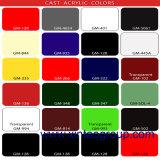 던지기 투명한 명확한 색깔 아크릴 장 가격