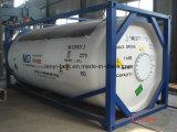 Kühlbecken-Behälter des gas-R134A, R22 mit Ventilen und waagerecht ausgerichteten Gauage