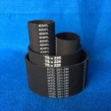 Cinghia di sincronizzazione di gomma industriale/cinghie sincrone T5*550 560 575 590 600