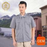 Uniforme de service de nettoyage d'OEM, modèle uniforme de Jack de polo pour le gestionnaire