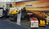 Conduire-sur le type moteur diesel vibratoire fiable de Kubota de rouleau de route de 3 tonnes