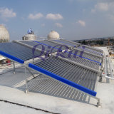 Module de collecteur de projet de chauffage d'eau solaire avec collecteur sans pessure