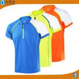 T-shirts occasionnels de sport d'usine d'usure de forme physique en gros de T-shirts