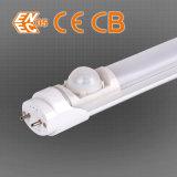Tubo T8 LED con sensor de posición de 5-8m 130degree Luz