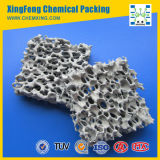 Filtre à mousse en céramique en carbure de silicium Filtration métallique