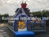 Inflável Bouncy Slide / Robot Slide Fun City / Inflatable Amusement Playground