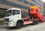 Rolo resistente do braço 6X4 de Dongfeng fora do equipamento do lixo do estojo compato do gancho do caminhão