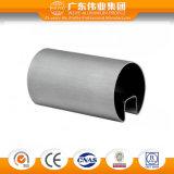 Perfil de aluminio de la protuberancia de la venta caliente para la barandilla con clases de Finished