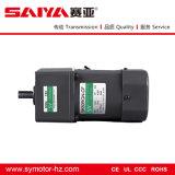 60W salida de la señal de eje de 12 mm de CA del motor de engranajes con regulador de la velocidad