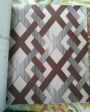2017 nuevo papel pintado coreano barato del precio el 1.06*15.6m 3D para la decoración de la pared