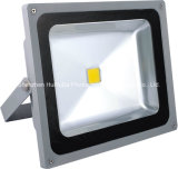 Luz de inundación amarilla de la MAZORCA LED del color 285*245*160m m AC165-265V 50W