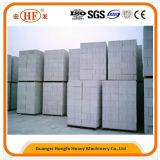 Блок блоков автоматический автоклавированный газированный конкретный AAC сохраняя стены делая машину