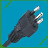 イギリスの標準AC 15A 125V電源コード