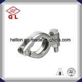 ステンレス鋼の衛生管付属品の三クローバークランプ