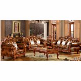 居間の家具(929P)のための革ソファーセット