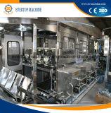 5 Gallonen-Flaschenreinigung-füllende und mit einer Kappe bedeckende Maschine/Wasser-Flaschenabfüllmaschine