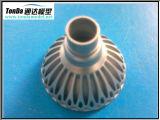 Pieza de maquinaria de aluminio del OEM, pieza de torneado de la precisión