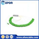 PLC van de Vezel van de Levering CATV van de vervaardiging 1*64 Naakte Splitser met de Output van de Vezel van het Lint