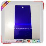 Capa transparente modificada para requisitos particulares del polvo de la pintura púrpura oscura del polvo del caramelo
