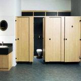 Общественная деревянная перегородка туалета Cubicle/ливня для сбывания