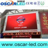 설치하는 P10 옥외 벽 발광 다이오드 표시 광고