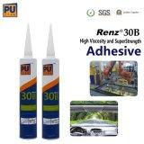Het zij vochtigheid-Genezend Dichtingsproduct Renz30b van Adhesion&Cohesion van het Glas