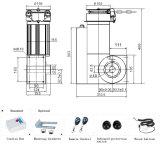 高品質は単一の自動静かな電池式のオーバーヘッドチェーン駆動機構のドアのオープナを転送する