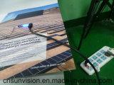 Cartão de banco solar magro super da potência cobrando