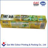Cajas de embalaje de la crema dental de encargo, cartón de empaquetado de la tarjeta del oro