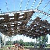 プレハブの鋼鉄構造倉庫はニースの価格と取除いた