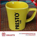 Tazza di caffè di ceramica promozionale di natale con figura speciale
