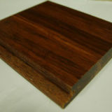 Suelo de bambú tejido hilo elegante del aspecto