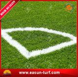 축구를 위한 고품질 녹색 잔디