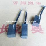 Escovas de carbono nacionais RC51 da grafita do metal da classe de China para o uso dos motores