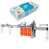 トイレットペーパーのペーパーロール包む機械