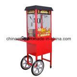 Caliente-Vendiendo el fabricante comercial de las palomitas, la máquina de las palomitas con el carro y la rueda (ET-POP6A-C)
