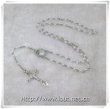 法皇が付いているフランシス島ConnectingおよびCrucfix (IOcr381)宗教プラスチック小さいビードの数珠