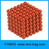 Jeu magnétique des billes 5mm du cube 216 en aimant de qualité