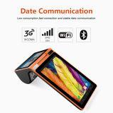 Zkc PC900 3G는 인조 인간 소형 PDA RFID 독자 그리고 작가 인쇄 기계 사진기 WiFi NFC를 가진 스크린 이중으로 한다