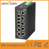 8 interruptores portuários da rede Ethernet do ponto de entrada & do ponto de entrada de um Ethernet de 2 gigabits