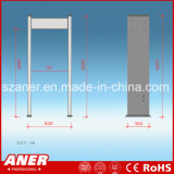 Detector de metais de porta alta sensibilidade da China fabricante com 6 lugares