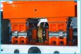Troquelador automático y máquina que arruga con la unidad que elimina