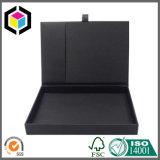 سوداء لون ورق مقوّى هبة ورقة هدب يعبّئ صندوق