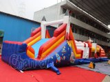Rocket Inflatable Obstacle Course para uso comercial (chob235)