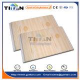 Cannelure en bois des graines de panneau de plafond de PVC de l'Algérie 7mm